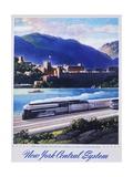 New York Central System, the New Empire State Express Poster Giclée par Leslie Ragan