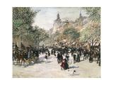 Boulevard Haussmann  Paris
