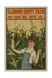 Claiborne County Fair  American Advertising Poster