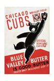 1939 Chicago Cubs Baseball Scorecard Giclée