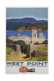 West Point Poster Giclée par Leslie Ragan