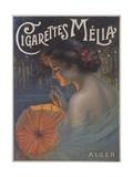 Cigarettes Melia Poster