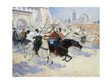 Horsemen Leaving the City