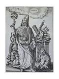 Hermes Trismegistus Book Illustration