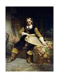 Oliver Cromwell by Emanuel Gottlieb Leutze
