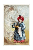 Aladdin or the Wonderful Lamp Trade Card