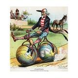 Coasting Political Cartoon