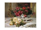 Roses on a Dressing Table