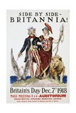 Side by Side - Britannia! Poster