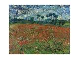 Champ de coquelicots Giclée par Vincent Van Gogh