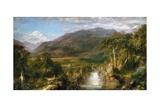 Cœur des Andes Giclée par Frederic Edwin Church