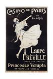 Casino De Paris Laure Freville Poster Giclée