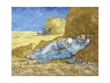 The Siesta (After Millet) Giclée par Vincent Van Gogh
