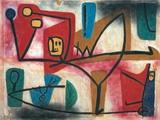 Uebermut (Arrogance) Giclée par Paul Klee