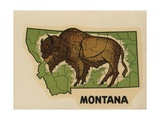 Montana Travel Decal