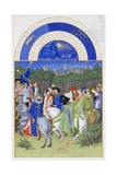 Très Riches Heures Du Duc De Berry: Month of May