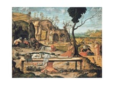 Preparation of Christ's Tomb by Vittore Carpaccio