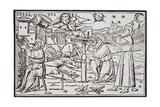 Print of Arabian Astrologers Examining the Sky from in Somnium Scipionis