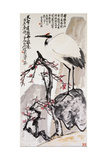 Crane and Plum Blossoms