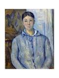 Madame Cezanne in Blue