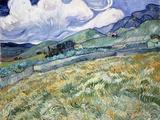 Landscape from Saint-Rémy Giclée par Vincent Van Gogh