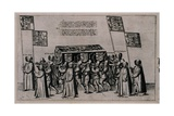 Funeral Cortege of Sir Philip Sidney