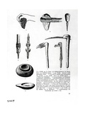 Book Illustration of Prehistoric Tools