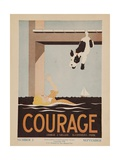 Character Culture Citizenship Guides Original Poster  Courage