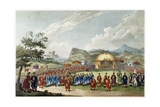 The Approach of the Emperor of China to His Tent in Tartar  to Receive the British Ambassador