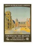 Chemin De Fer Paris to Orlean  French Railroad Travel Poster