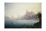 The Bay of Bota-Fogo  Rio De Janeiro