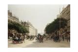 La Rue Royale  Paris  France
