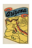 Arizona Travel Decal