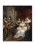 Shakespeare Reading to Queen Elizabeth I