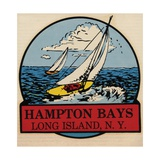 Hampton Bays Travel Decal