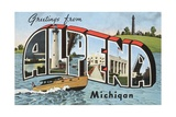 Greetings from Alpena  Michigan