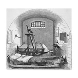 Engraving Depicting Separate Cell in Pentonville Prison