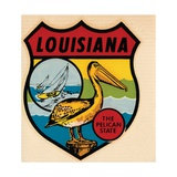 Louisiana Travel Decal