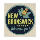New Brunswick Canada Welcomes You! Travel Decal