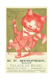EP Murphey  Palace of Music Trade Card