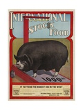 International Stock Food Advertising Poster