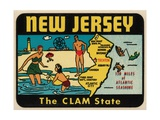 New Jersey Travel Decal