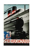 Danemark Travel Poster