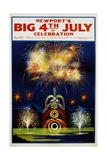 Newport's Big 4th of July Celebration Poster