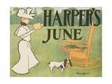 Harper's June Poster