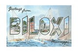 Greetings from Biloxi  Mississippi
