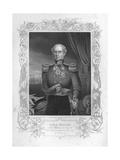 Portrait Engraving of Lord Raglan