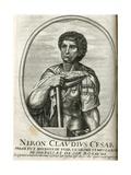 Neron Claudius Cesar Engraving