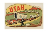 Utah Travel Decal