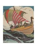 Leif Erickson at Sea